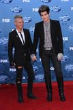 Adam Lambert. And Sauli Koskinen at the 'American Idol' Season 10 Finale Arrivals, Nokia Theatre L.A. Live, Los Angeles, CA. 05-25-11 royalty free stock photography