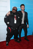 Adam Levine, Cee Lo Green Royalty Free Stock Images