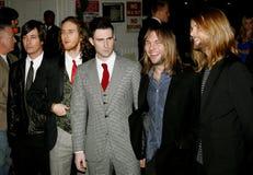 Adam Levine and Maroon 5 Stock Photos