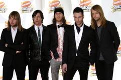 Adam Levine and Maroon 5 Royalty Free Stock Photos