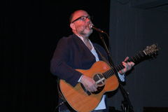 Adam Levy. On stage at Als Den March 9.15 Stock Images