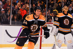 Adam McQuaid Boston Bruins Stockbilder