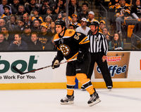 Adam McQuaid, Boston Bruins Lizenzfreie Stockbilder