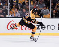 Adam McQuaid, Boston Bruins Lizenzfreie Stockfotos