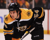 Adam McQuaid Boston Bruins Stockfoto