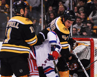 Adam McQuaid Boston Bruins Lizenzfreie Stockfotografie