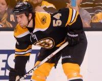 Adam McQuaid Boston Bruins Lizenzfreies Stockbild