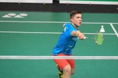 Adam Mendrek - Badminton Stockfotografie