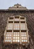 Adam Mickiewicz-Fenster Stockbilder