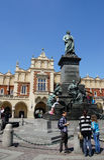 Adam Mickiewicz Monument Stock Image