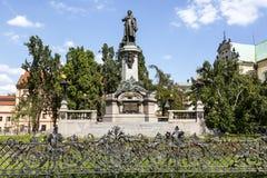 Adam Mickiewicz monument Royaltyfri Bild