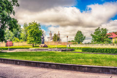 Adam Mickiewicz Monument In Navahrudak, Belarus