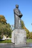 Adam Mickiewicz in Poznan Stockfotografie