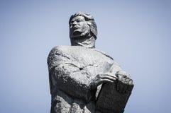 Adam Mickiewicz-Skulptur Lizenzfreie Stockfotos