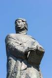 Adam Mickiewicz-Skulptur Stockfoto