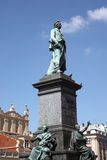 Adam Mickiewicz statue Stock Image