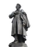 Adam Mickiewicz statue in Warsaw, Poland royalty free stock photo