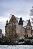 Adam Mickiewicz University Lizenzfreies Stockfoto