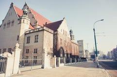 Adam Mickiewicz University Stockfotografie