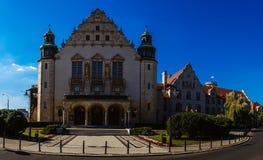 Adam Mickiewicz University in Posen, Polen Lizenzfreie Stockfotografie
