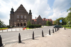 Adam Mickiewicz University in Poznan Stock Photography