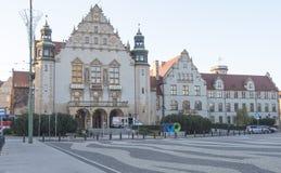 Adam Mickiewicz University in Poznan, Poland. Poznan, Poland - December 05, 2018: Adam Mickiewicz University in Poznan Poland royalty free stock photo