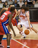 Adam Morrison Takes Charge Stock Photography