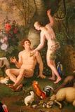 Adam och Eva - Vaticanenmuseum Royaltyfri Foto
