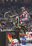 Adam Raga. Compete at Trial Indoor of Barcelona, on February 9, 2014, in Palau Sant Jordi stadium, Barcelona, Spain. Toni Bou was the winner Stock Photography