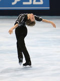 Adam RIPPON (USA) free skating Royalty Free Stock Photography