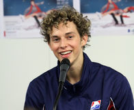 Adam RIPPON at the winners press conference Stock Image