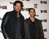 Adam Rodriguez, Joe Manganiello, Rage Royalty Free Stock Photos