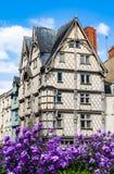 Adam& x27; s-Hausmonument verärgert herein, Frankreich Lizenzfreies Stockfoto