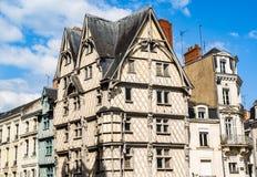 Adam& x27; s-Hausmonument verärgert herein, Frankreich Stockfotografie