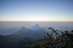 Adam's Peak at Sri Lanka Royalty Free Stock Images