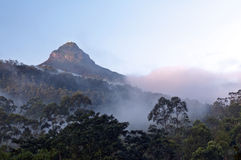 Adam's peak, Sri pada Stock Image