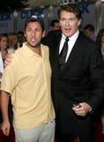 Adam Sandler and David Hasselhoff Royalty Free Stock Photos