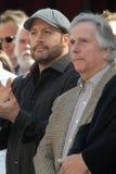 Adam Sandler, Henry Winkler, Kevin James Stockbilder