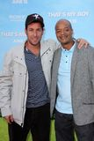 Adam Sandler and Todd Bridges at the  Stock Photo