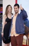 Adam Sandler und Jackie Sandler Lizenzfreies Stockfoto