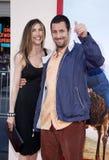 Adam Sandler und Jackie Sandler Lizenzfreie Stockbilder
