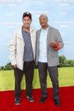 Adam Sandler und Todd Bridges Lizenzfreie Stockfotos