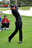 Adam Scott at 2009 Masters Royalty Free Stock Image