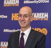 Adam Silver, comissário de NBA Fotografia de Stock