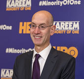 Adam Silver, NBA Commissioner Stock Photography