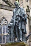 Adam Smith Statue in Edinburgh Royalty Free Stock Photography