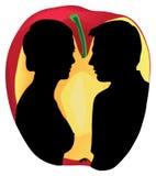 Adam und Eva Lizenzfreies Stockbild