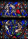 Adam und Eve Stockbild