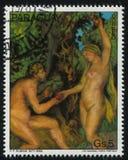 Adam und Eve durch Rubens Lizenzfreies Stockbild