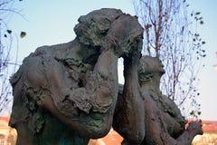 Adam und Eve, Ljubljana, Slowenien Lizenzfreie Stockfotos